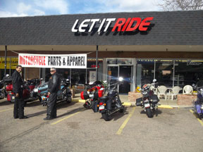 Let it Ride Storefront
